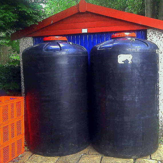 1600 litres in each